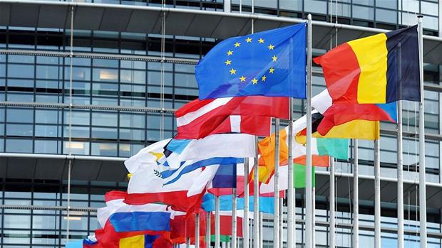 EU flag Bruxelles