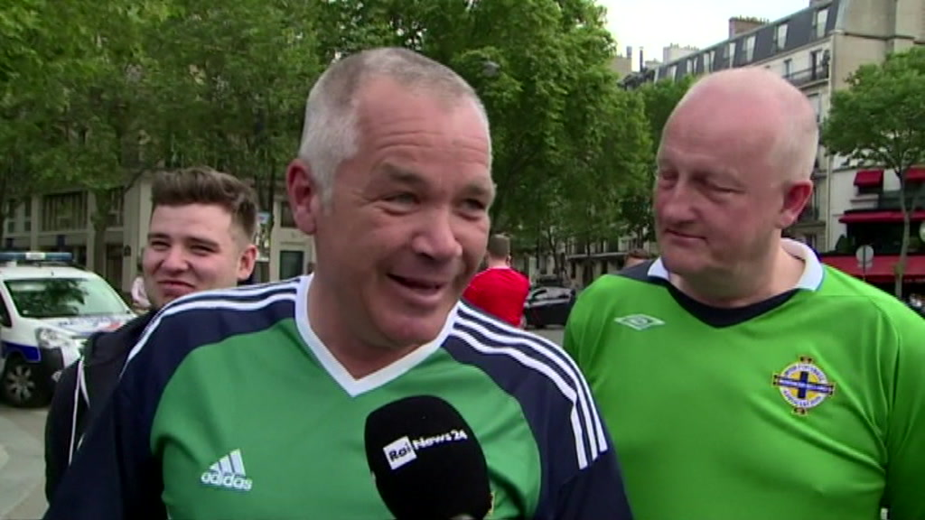 Nordirske fodboldfans
