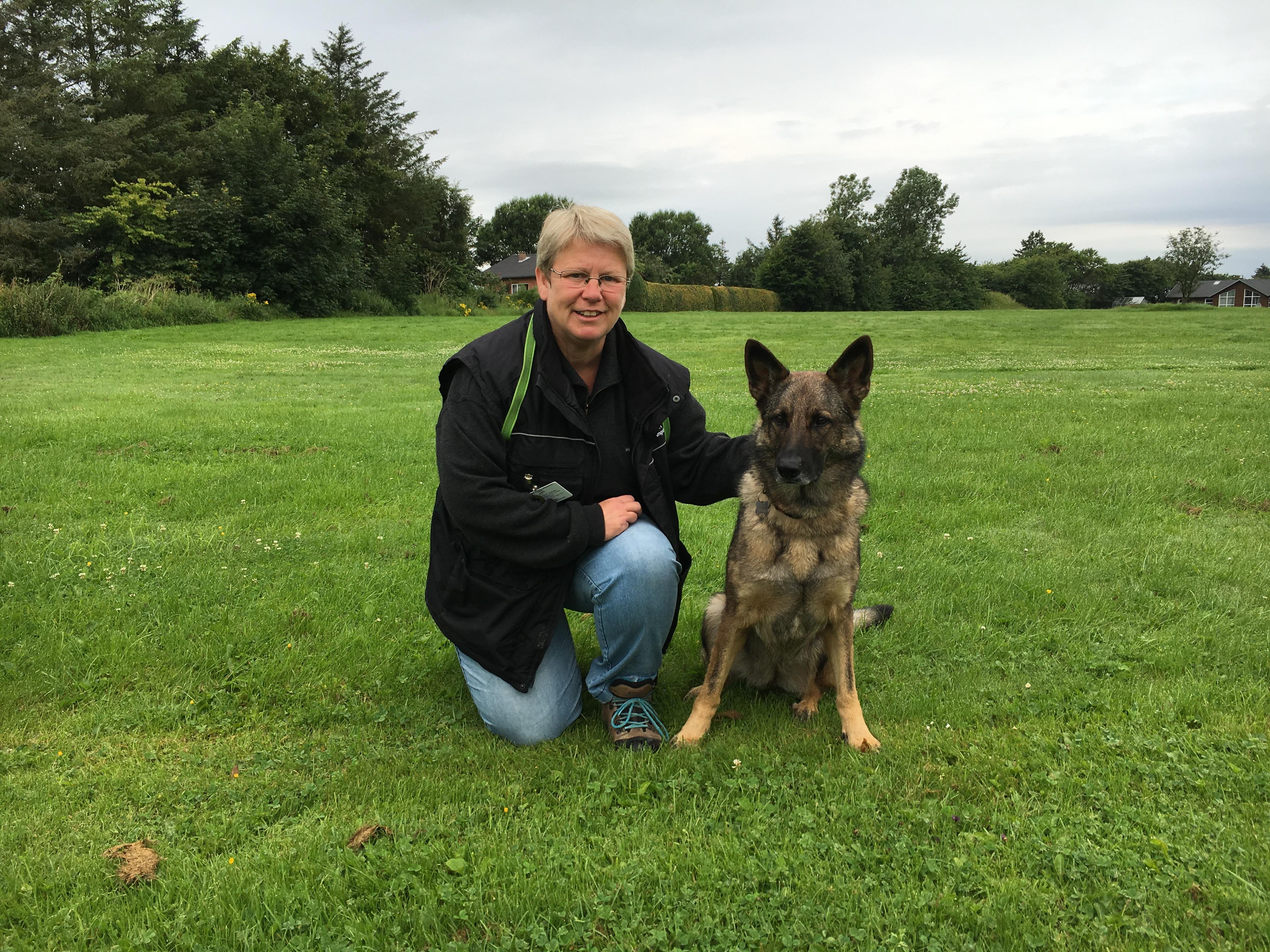 Ellen Rasmussen, hundefører, Danmarks civile Hundeførerforening