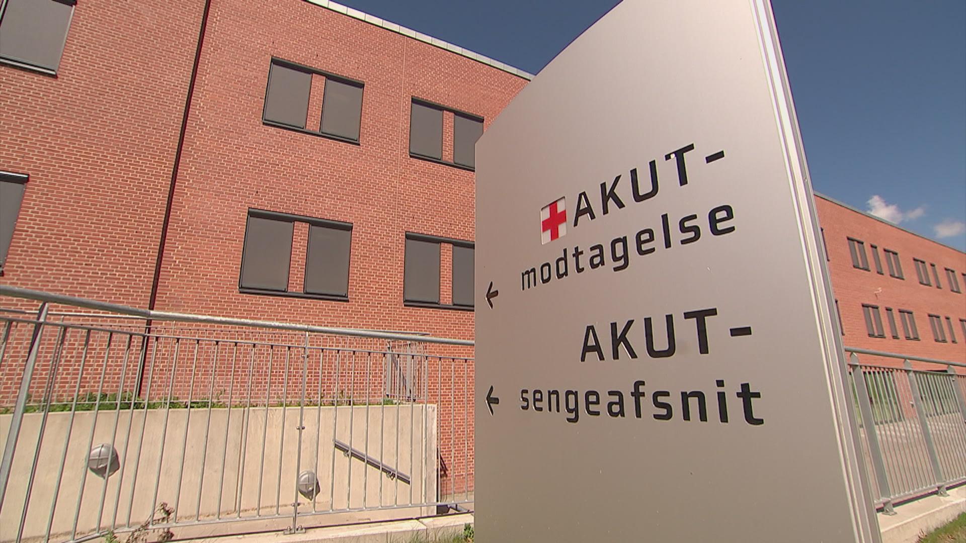 Regionshospital Randers' akutmodtagelse har oplevet stor travlhed