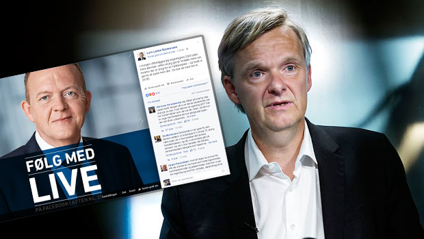 Poul Madsen og Løkke-opslag