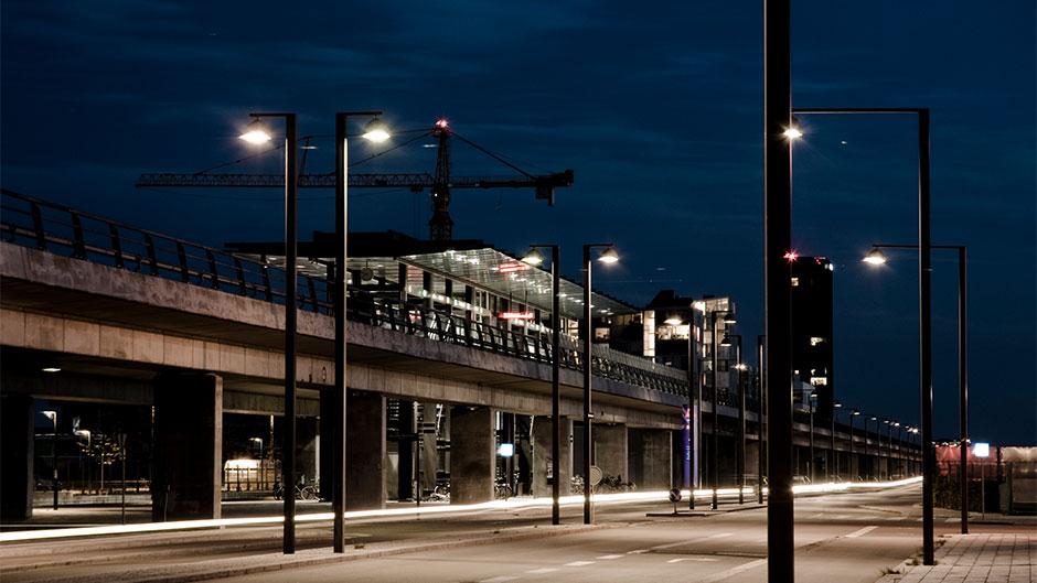 Metrostation - om natten
