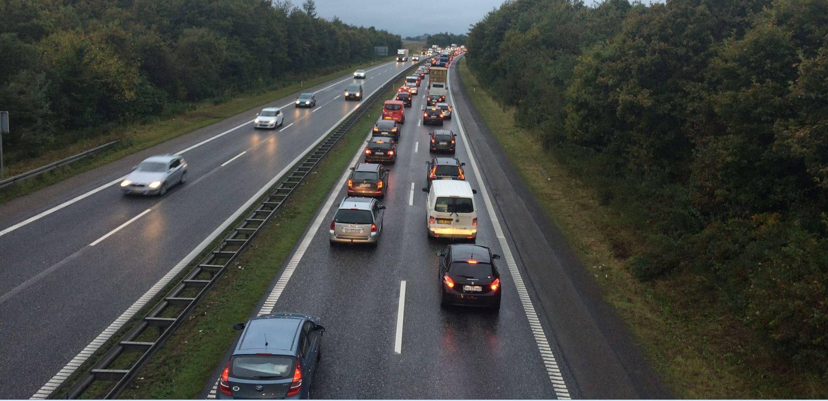 kø, motorvej, trafik
