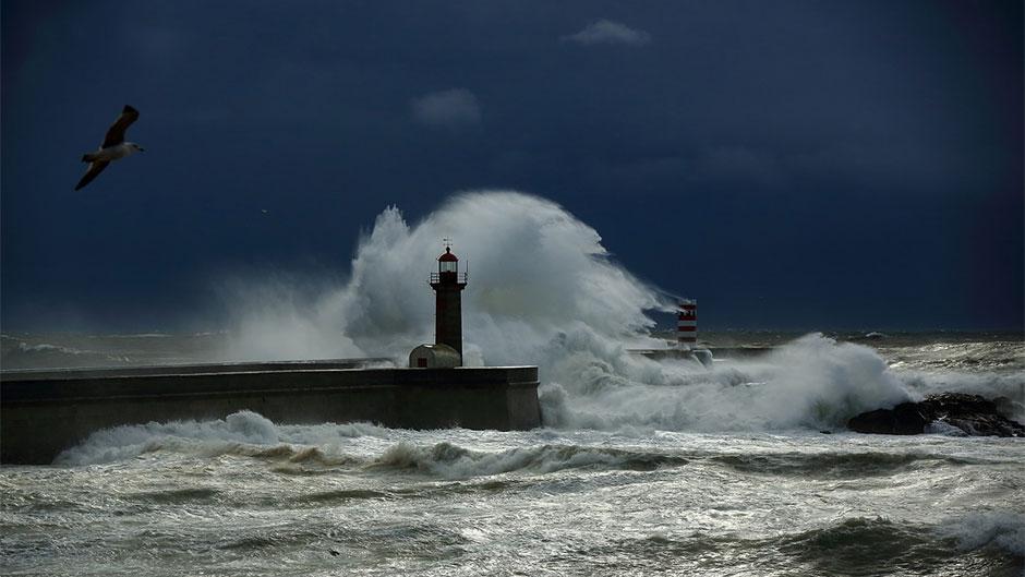 Store bølger - storm