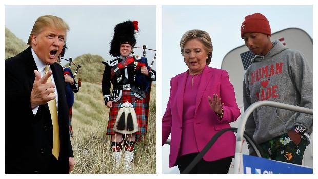 QUIZ Hvilken sport dyrker Trump, og hvem er Clinton fan af? | Valg i USA 2016 | DR