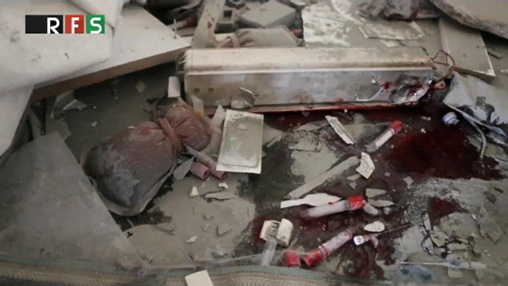 Børnehospital i Aleppo