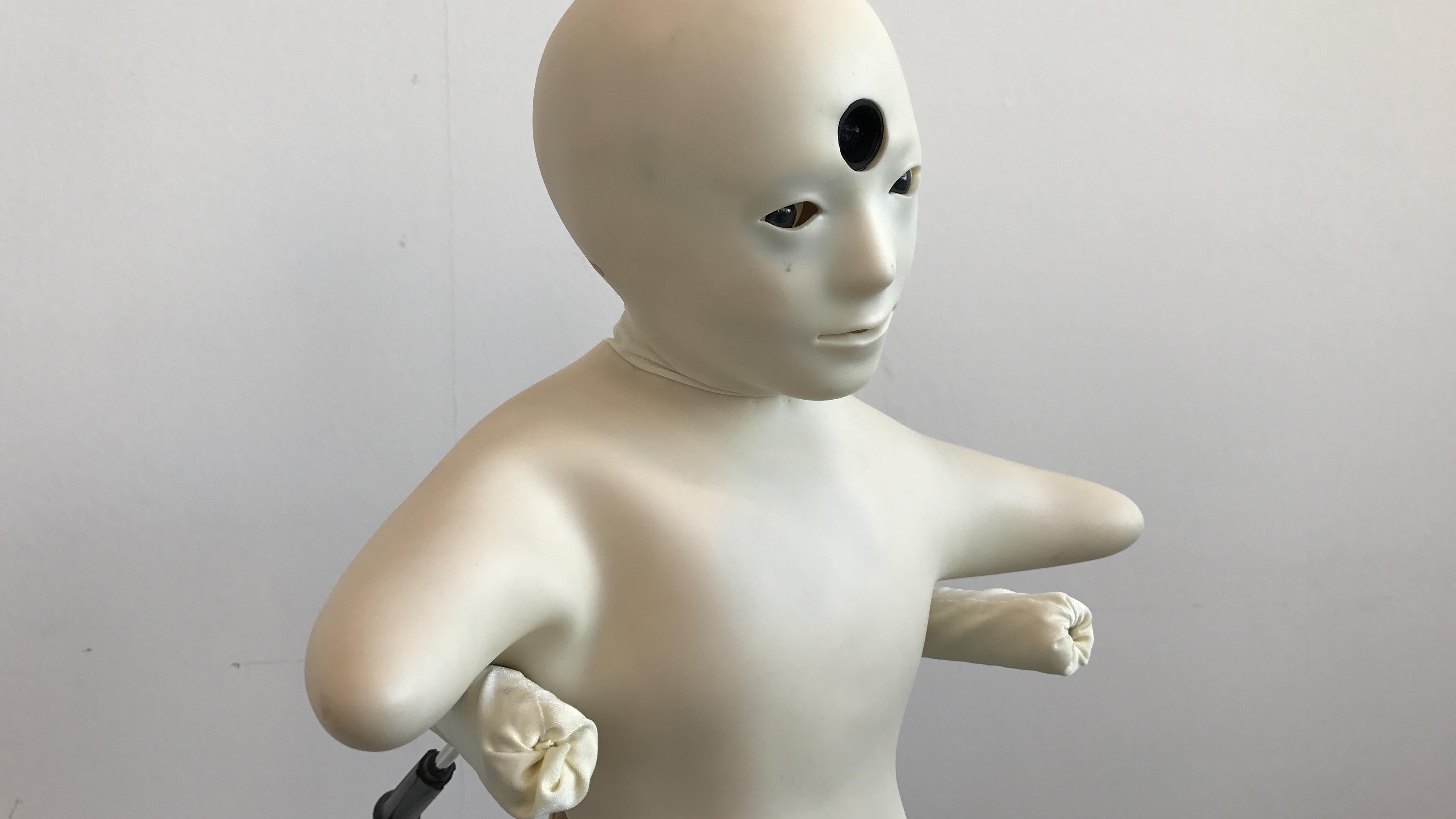 Japansk kramme-robot