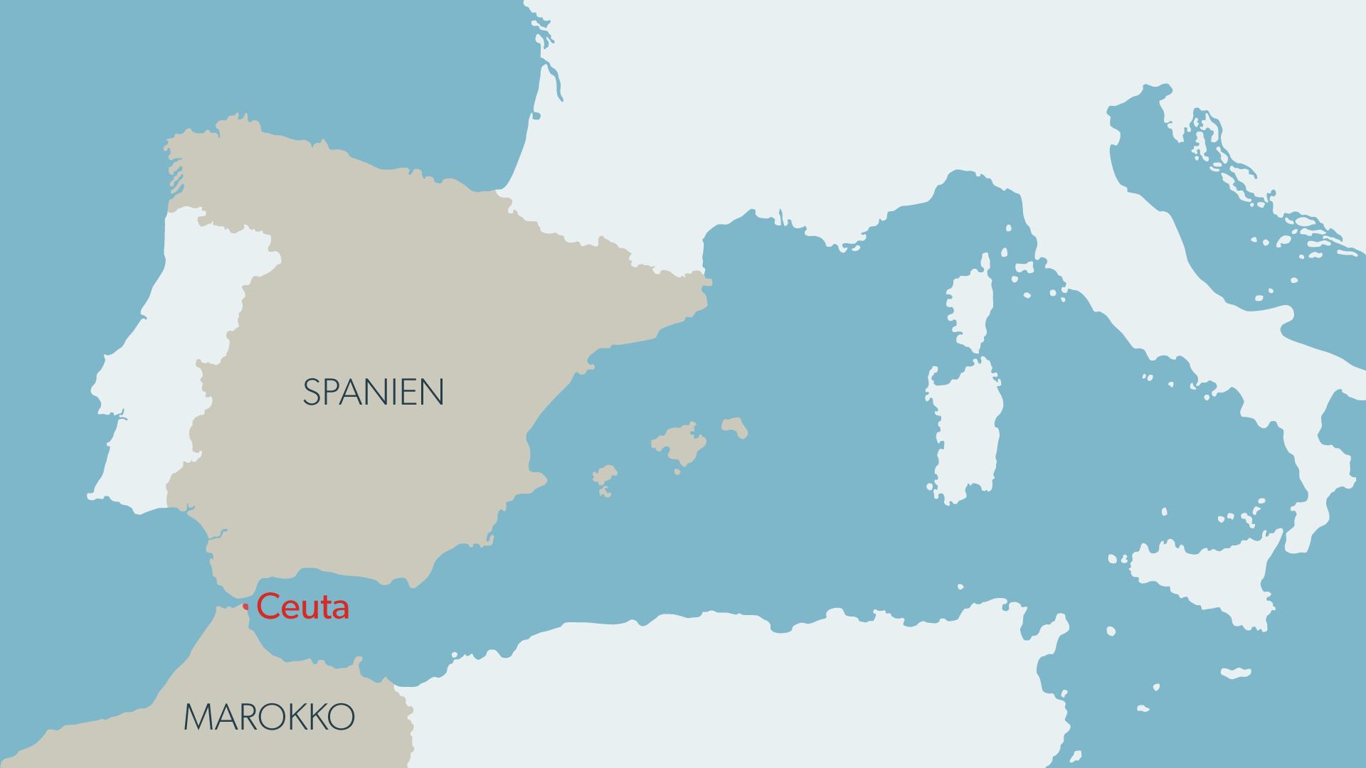 Enklave Spanien