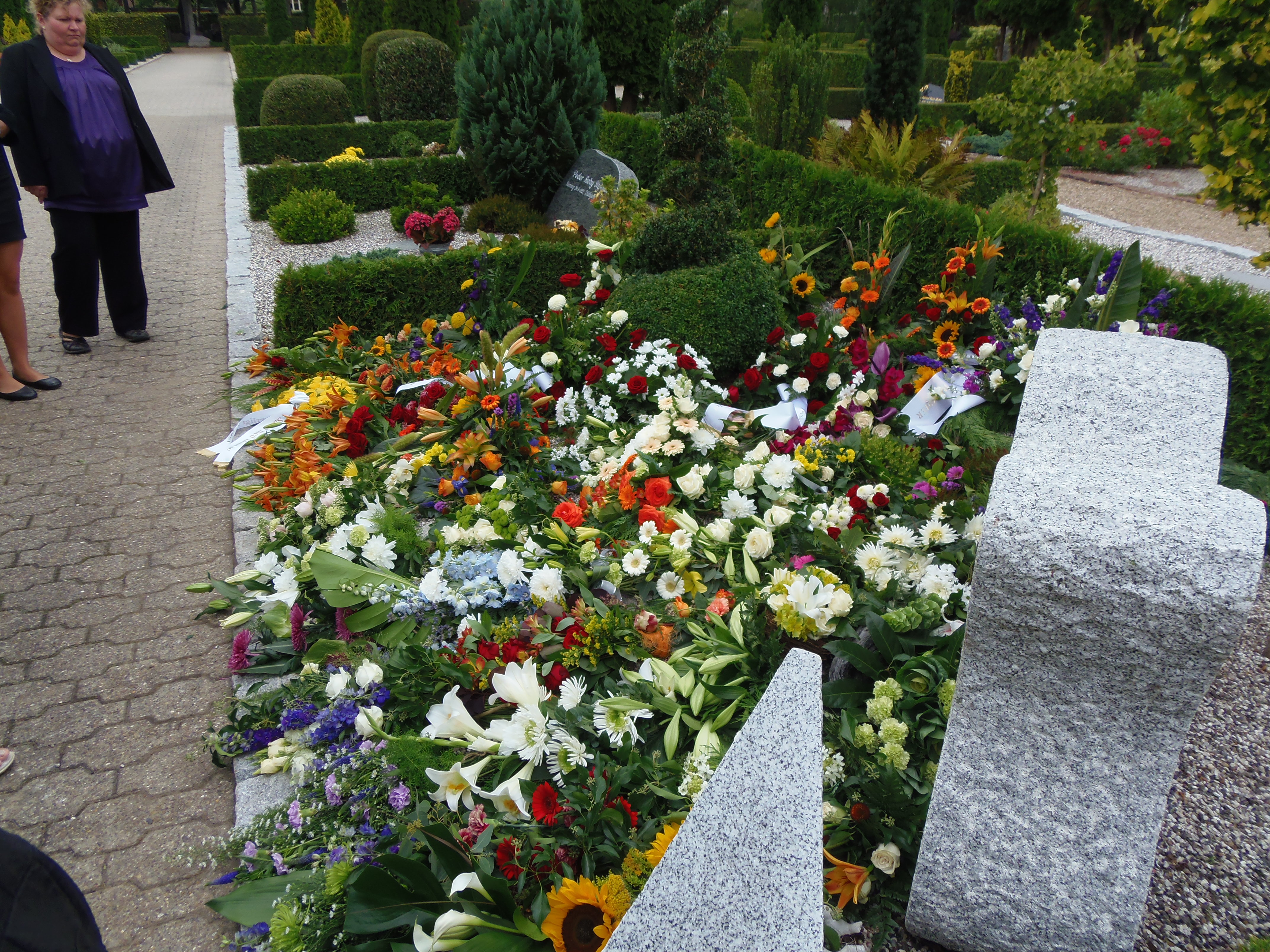 Palle Würtz, begravelse