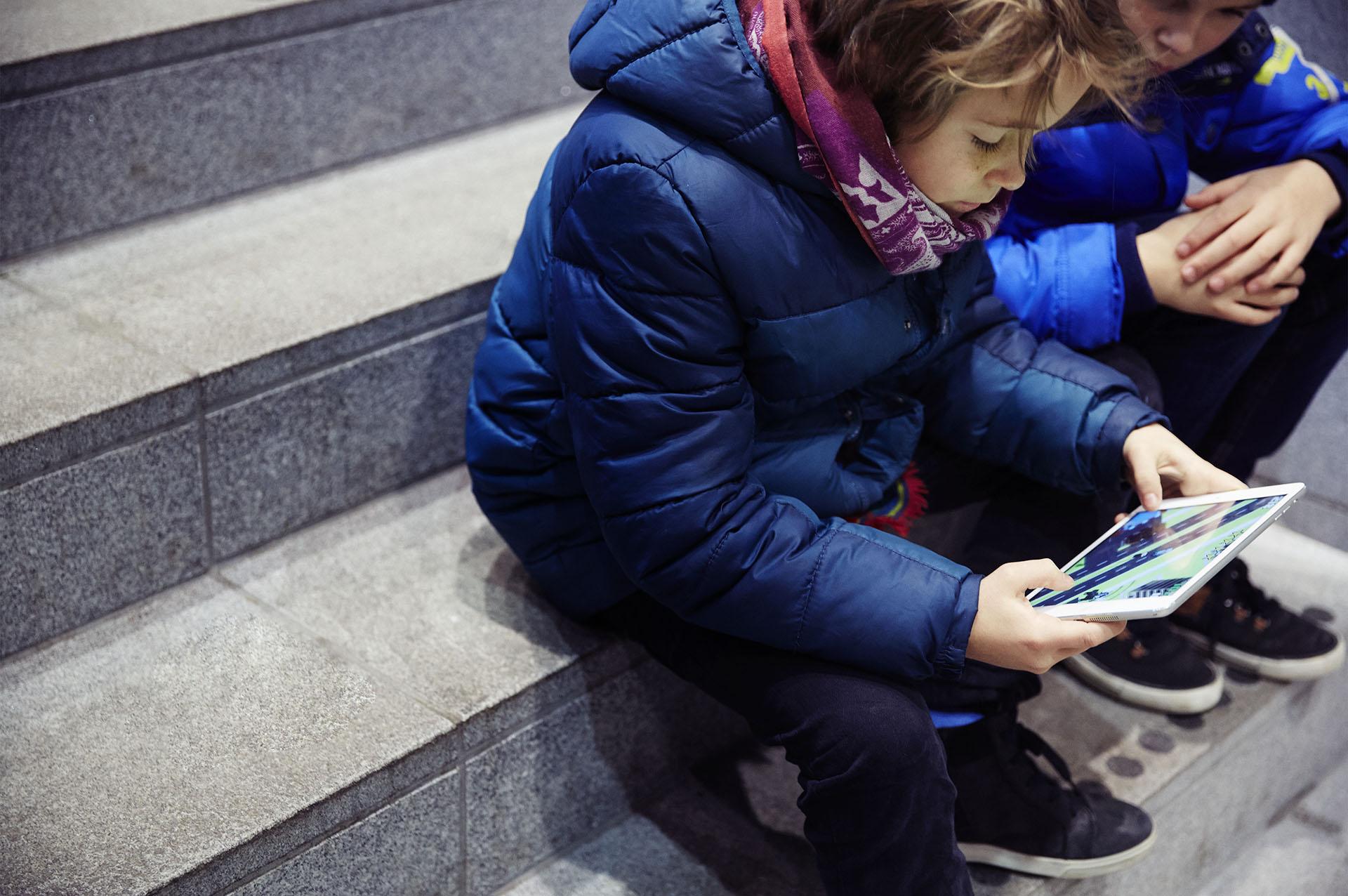 Børn bruger skærme på nye måder