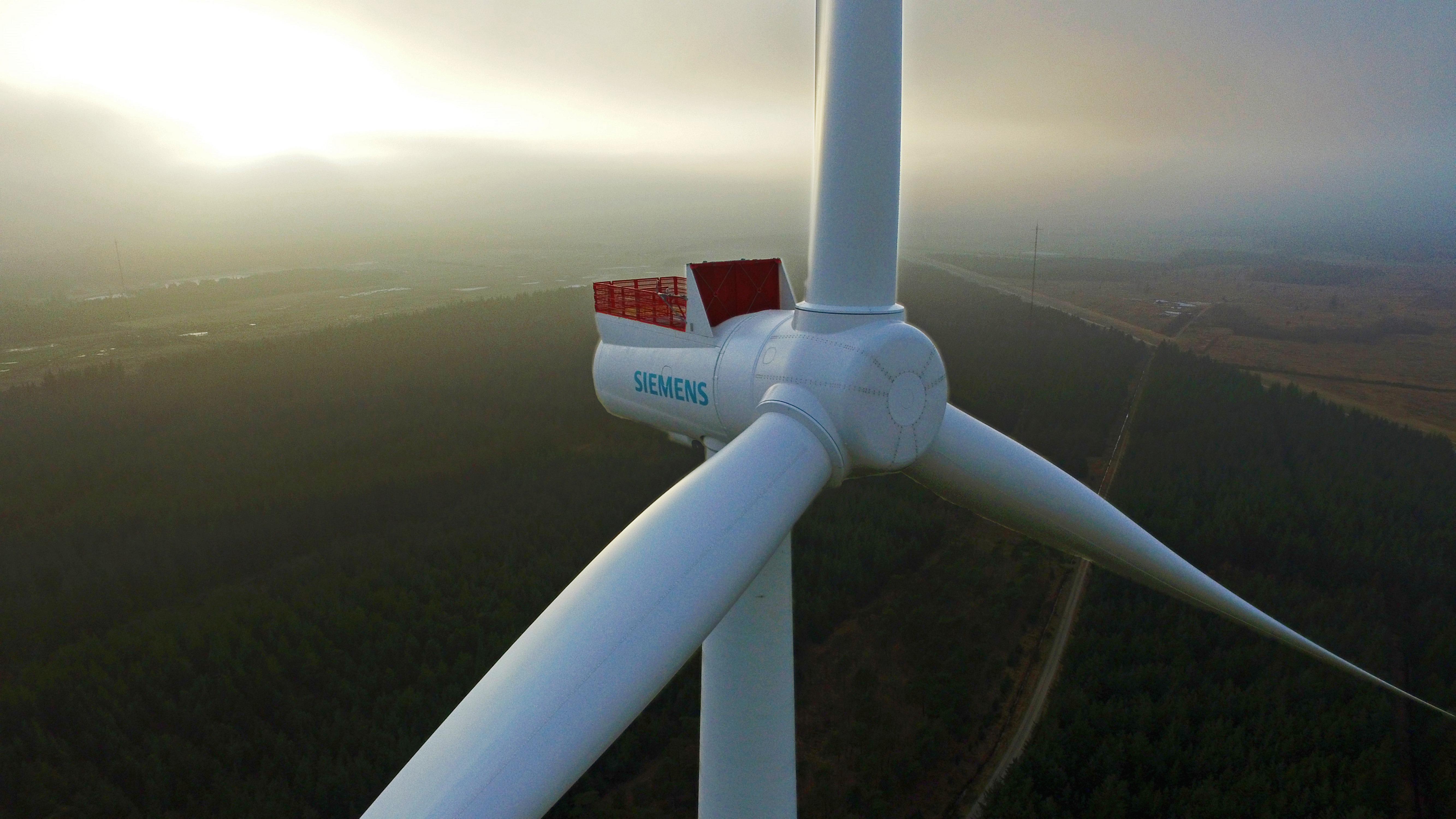 Siemens vindmølle