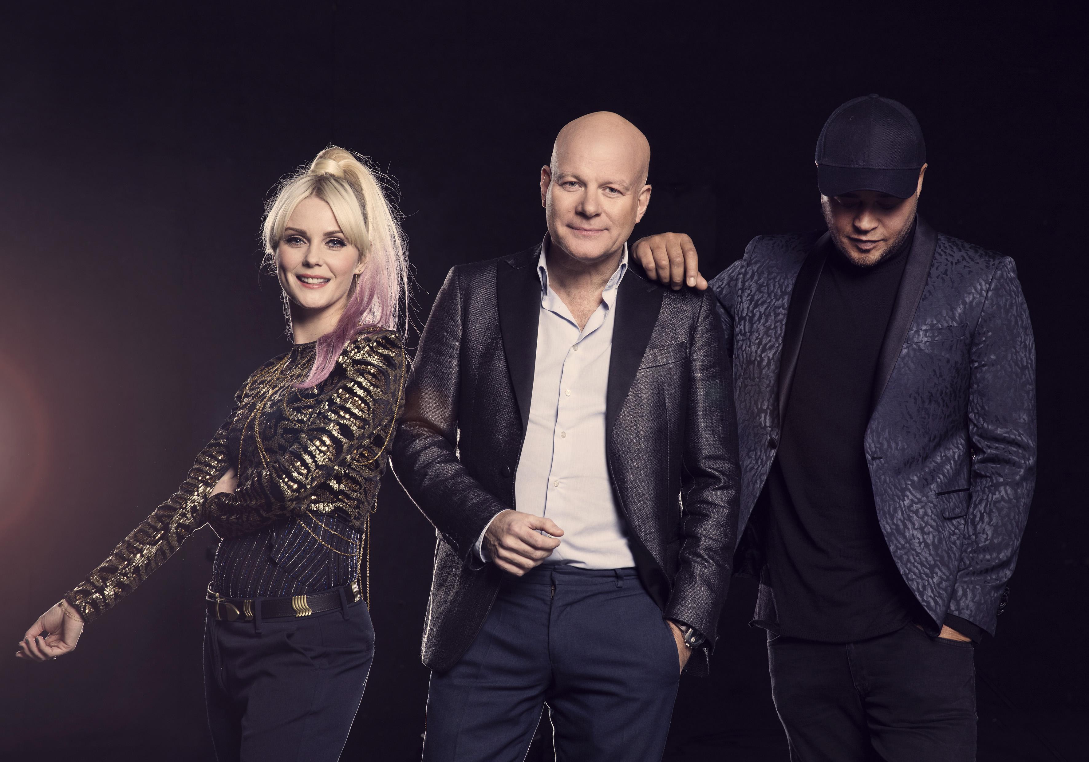 X Factor dommerne 2017