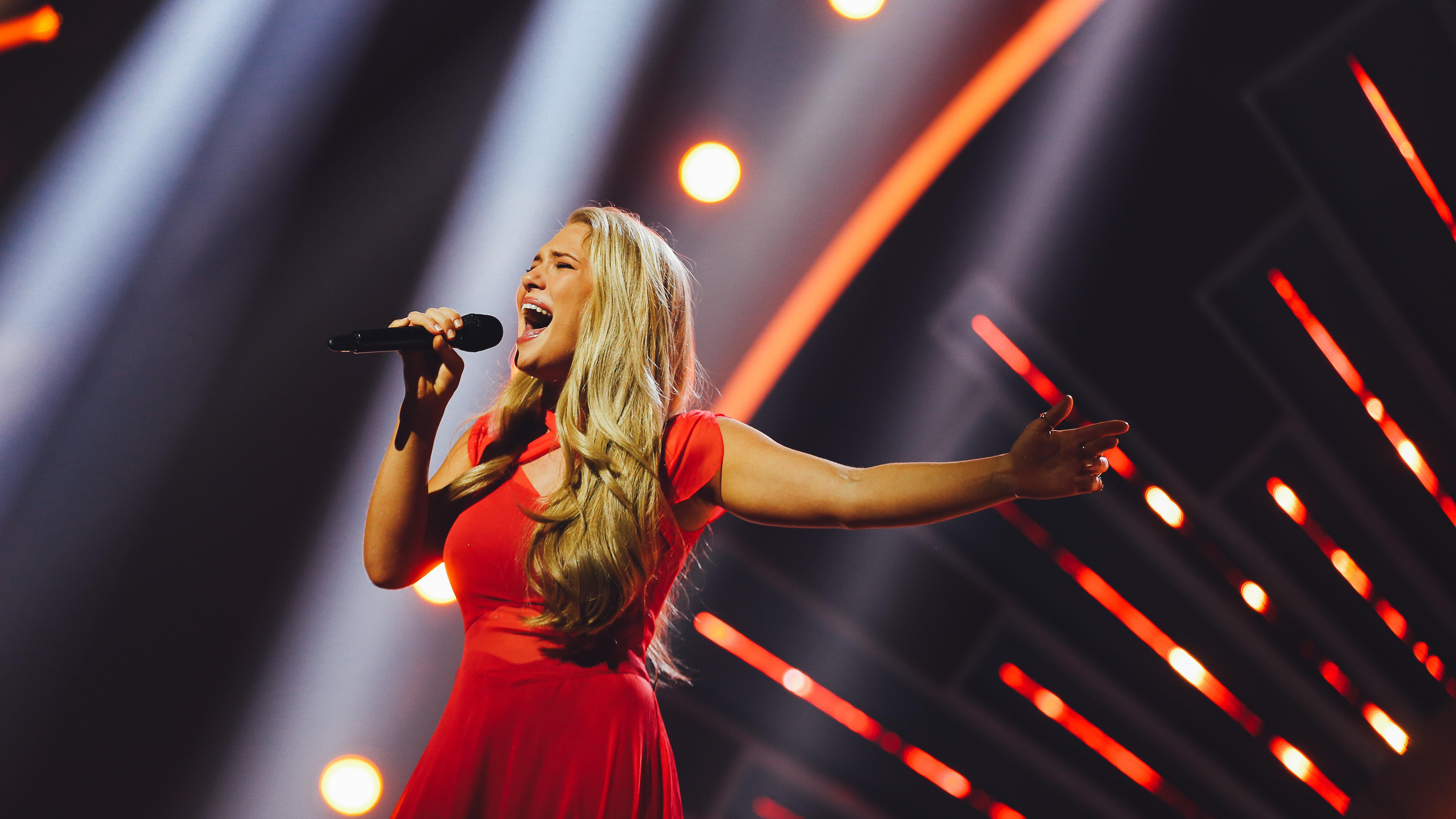 Anja Nissen i Melodi Grand Prix 2017