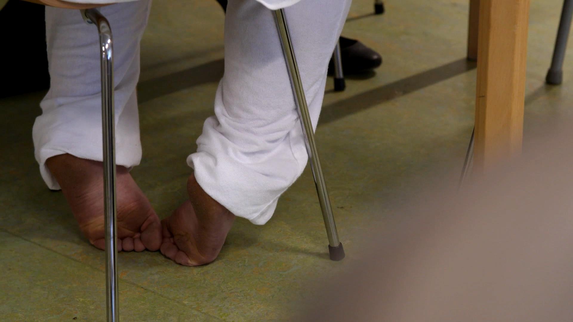 Rikkes fødder