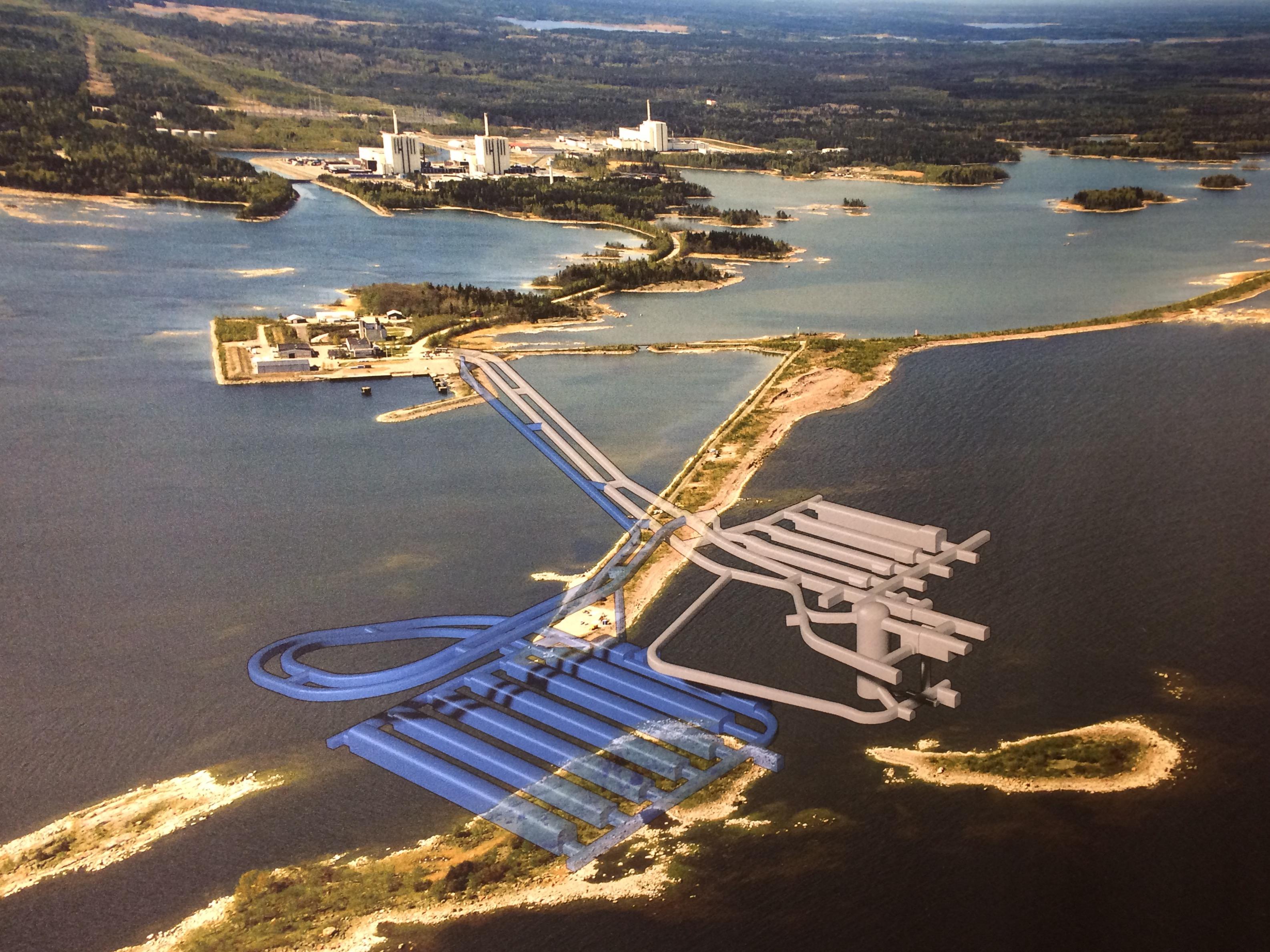 Atomaffaldslager, Forsmark, Sverige