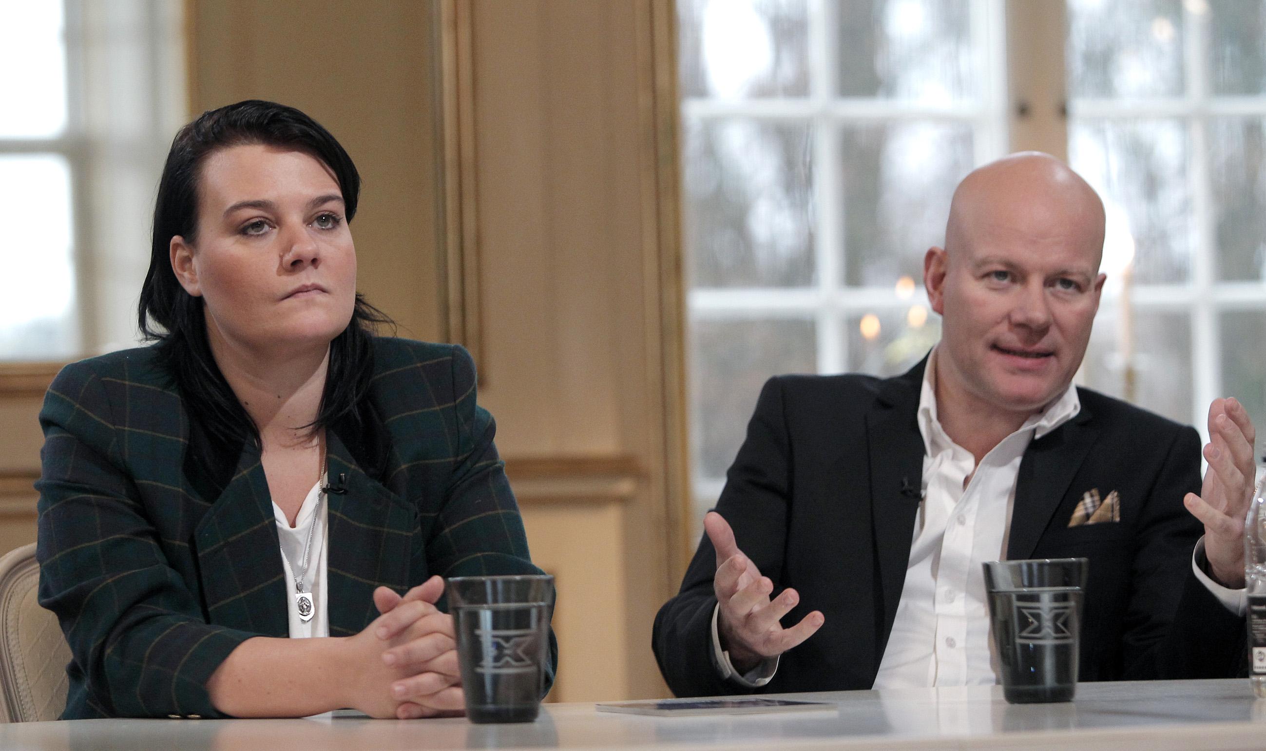 Thomas Blachman og Maria Gerhardt