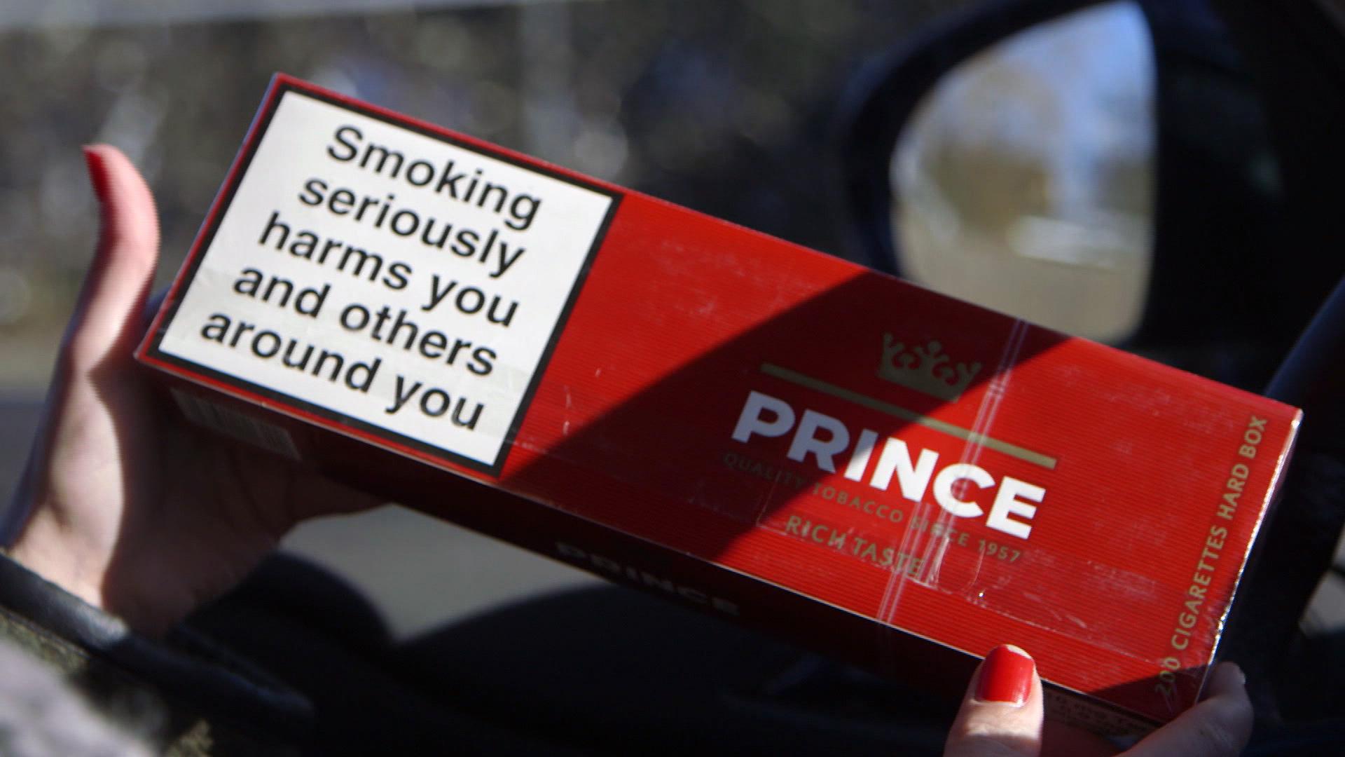 Ulovlige cigaretter