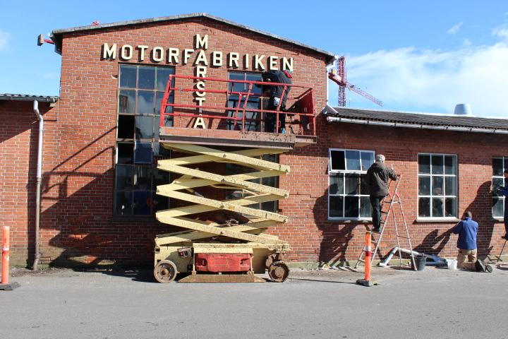 Motorfabrikken i Marstal (fascade)