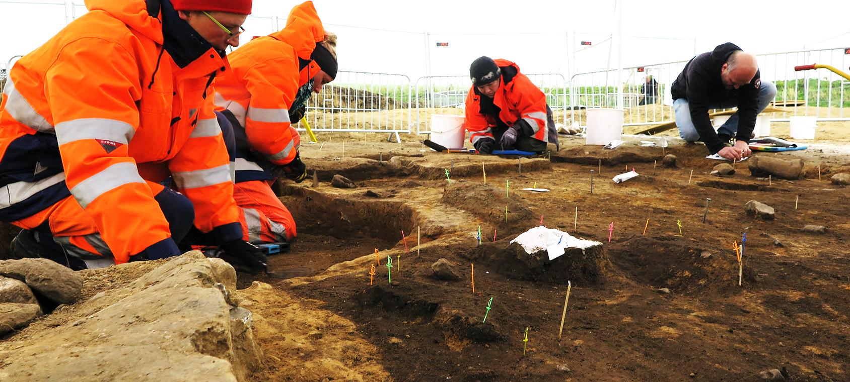 Udgravning af Vikingen fra Fregerslev