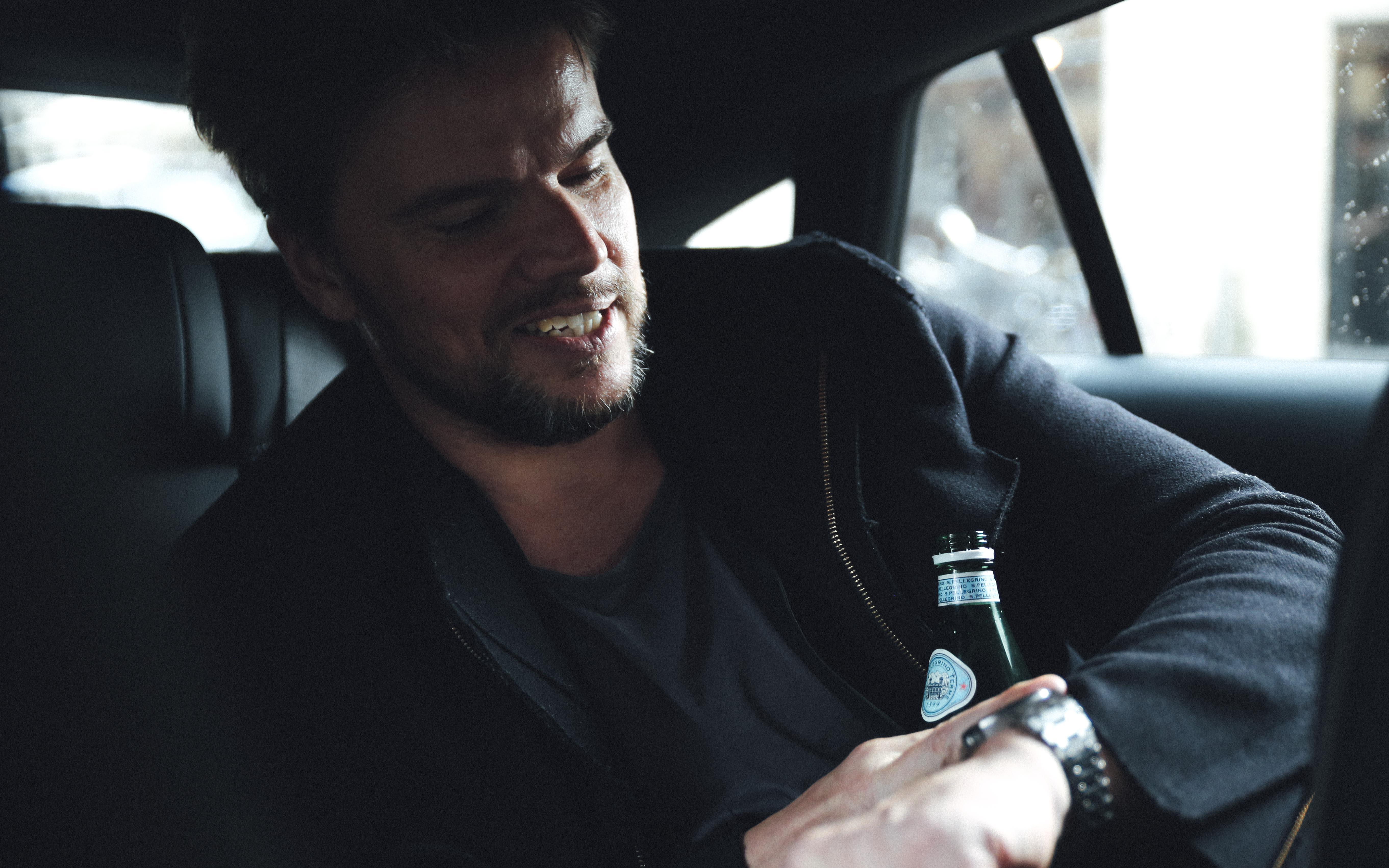 Bjarke Ingels i bilen