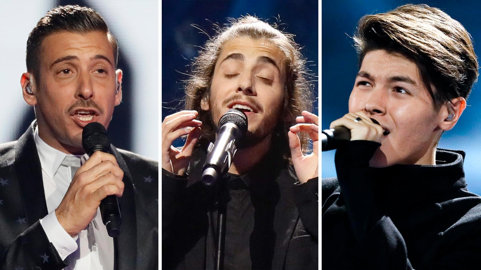 Bookmaker-favoritterne i Eurovision 2017