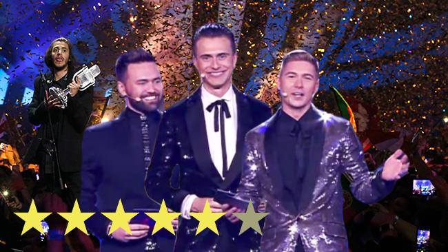 Anmeldelse af Eurovision 2017