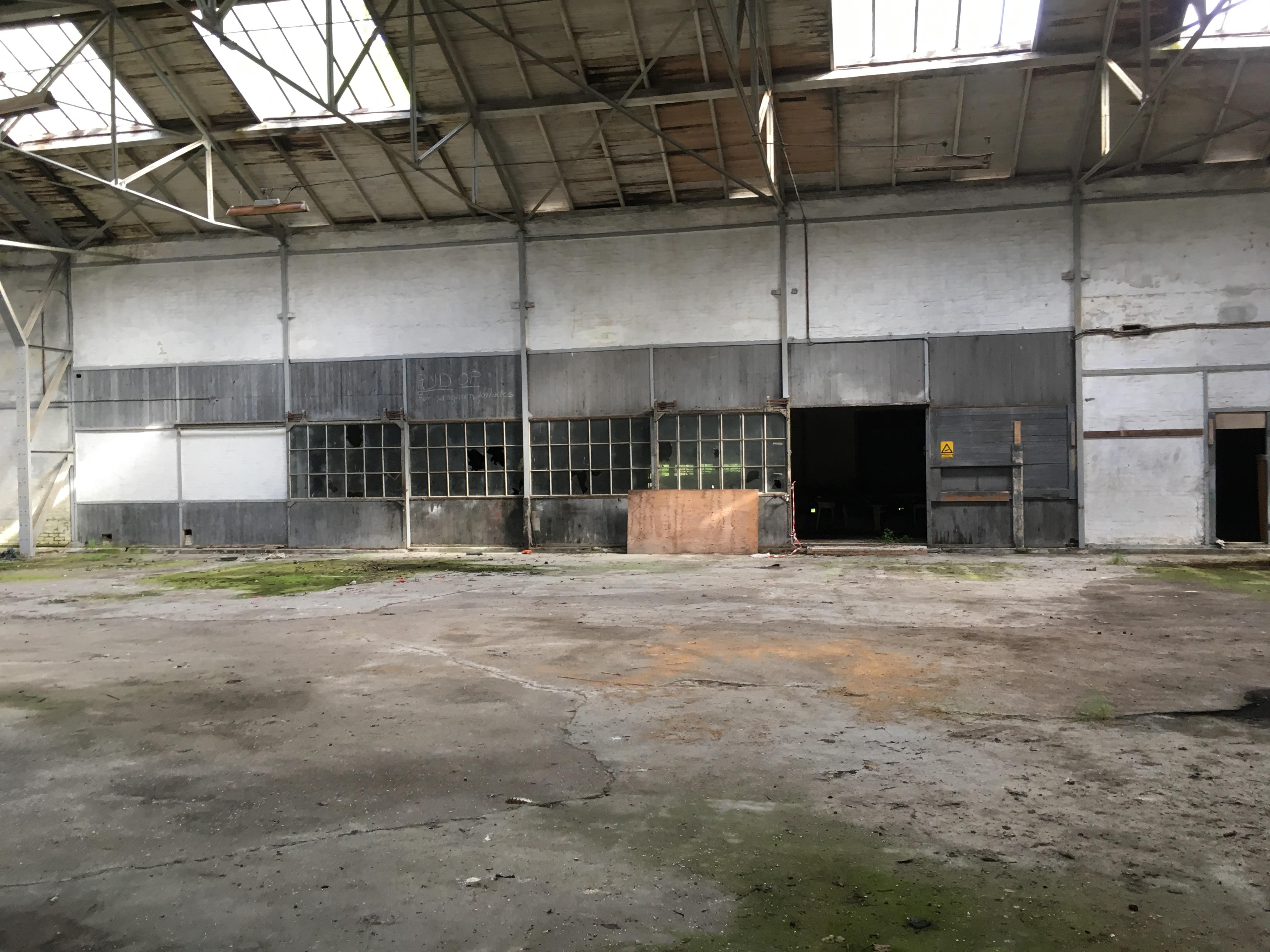 Flyhangar - Zeppelinbasen