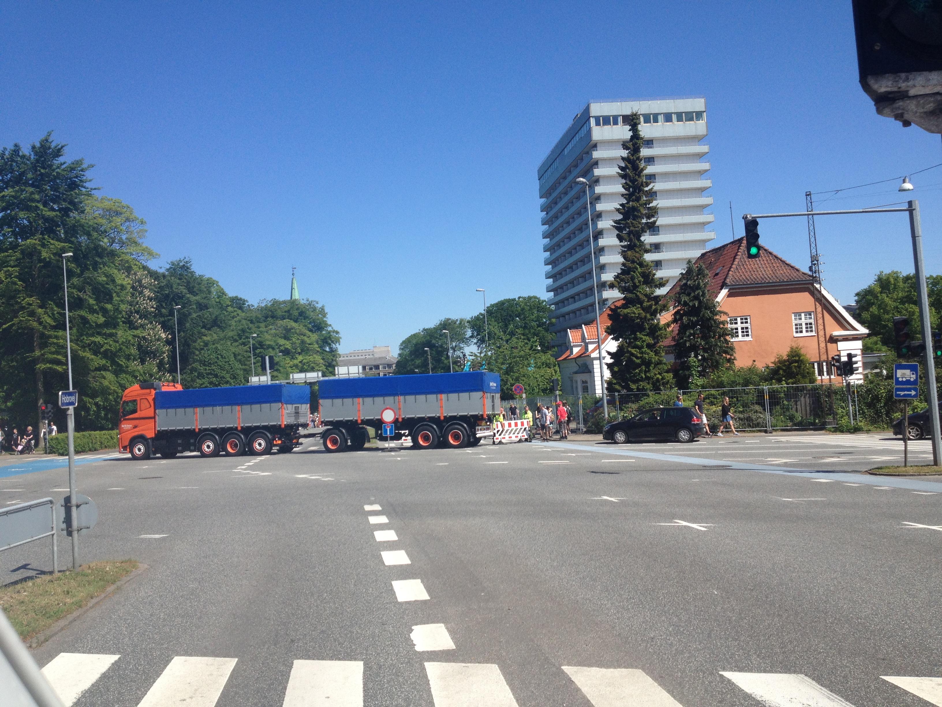 Lastbil skal terrorsikre karnevalsgæster i Aalborg i år