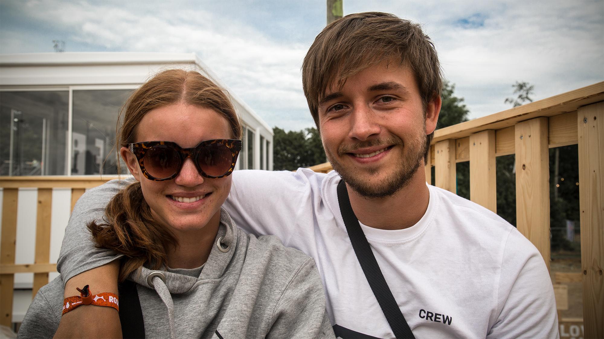 Clara og Rasmus Tværs Roskilde