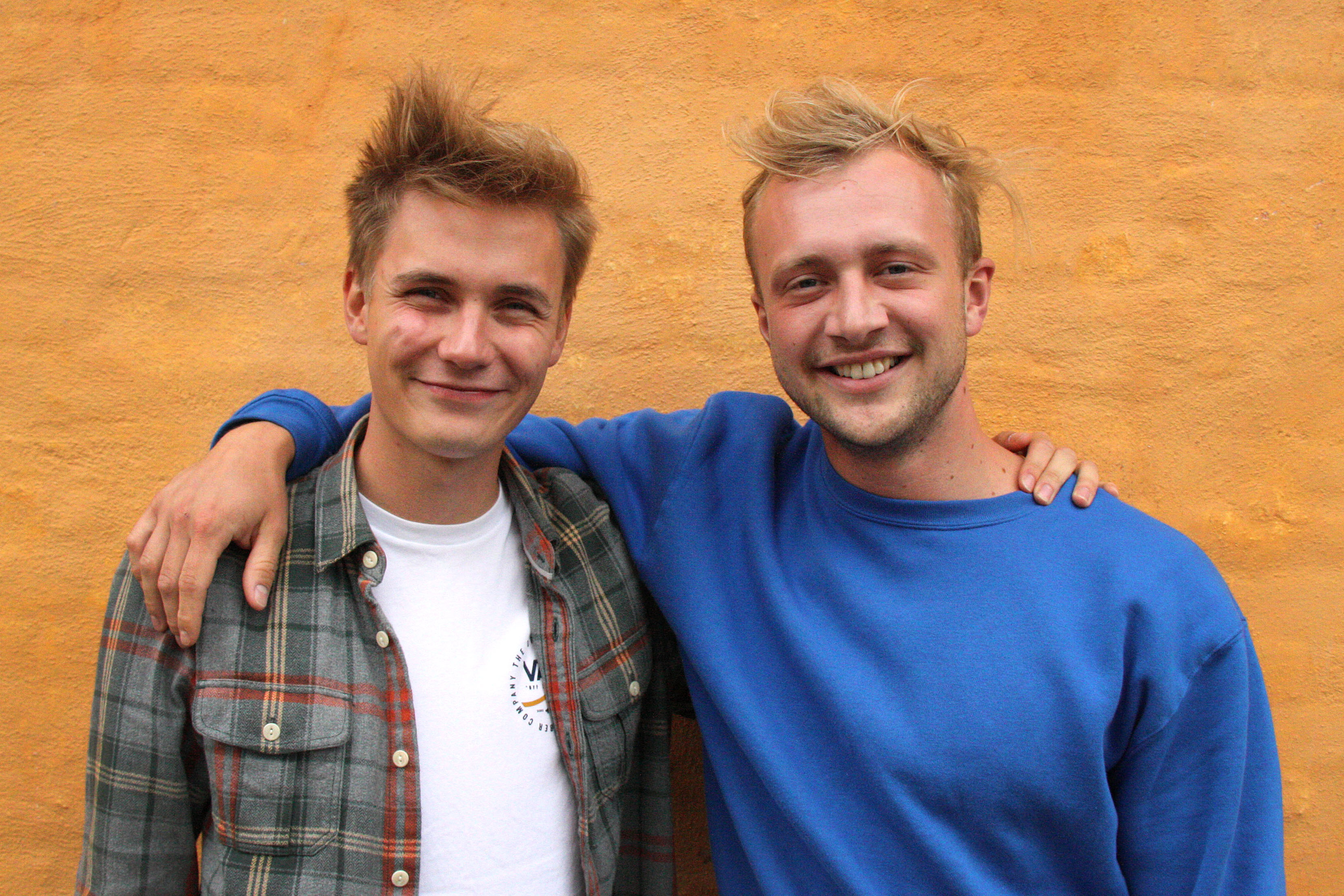 Lars Astrup Jensen og Casper Brigsted Laursen