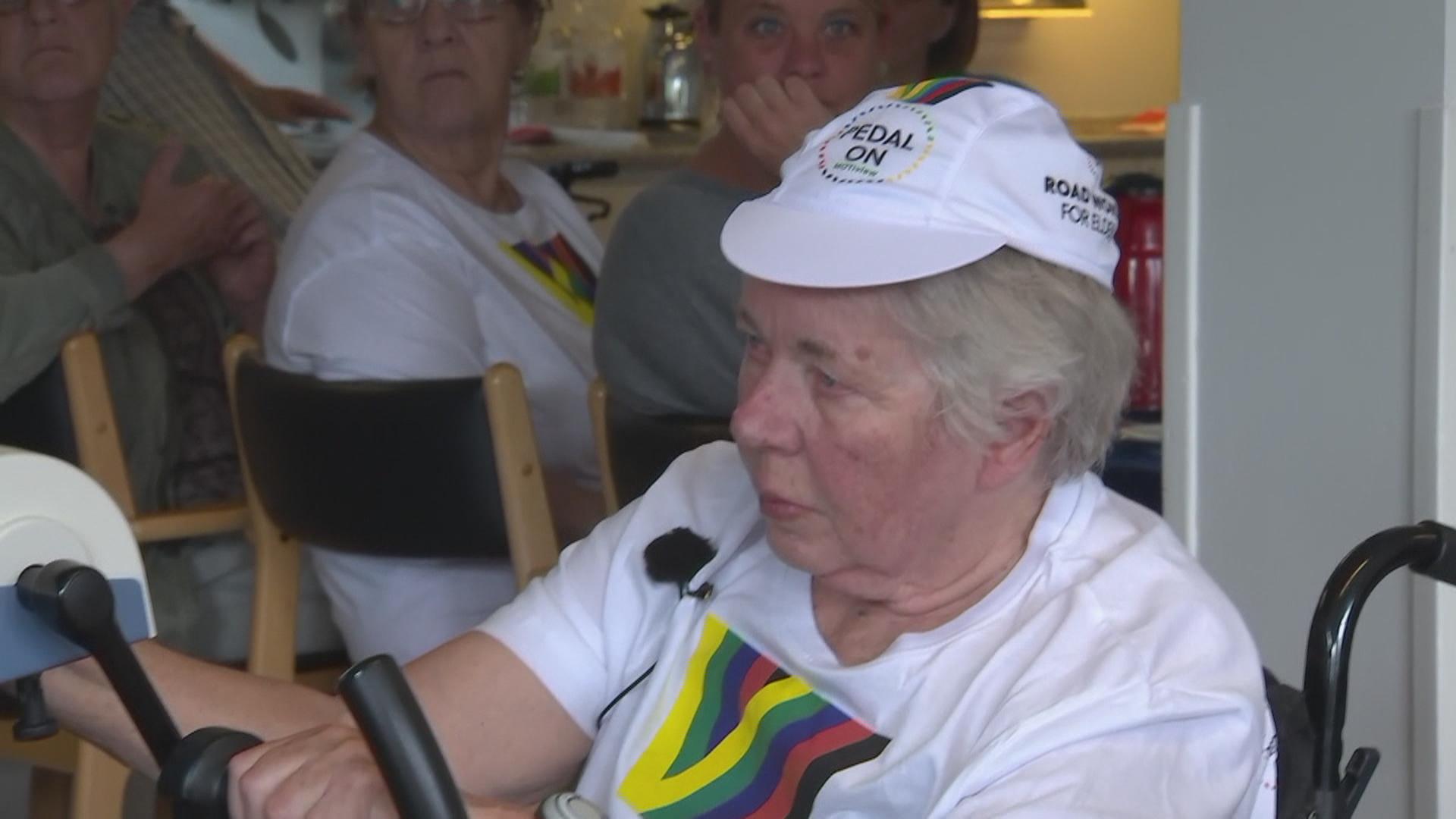 VM i cykling på plejehjem