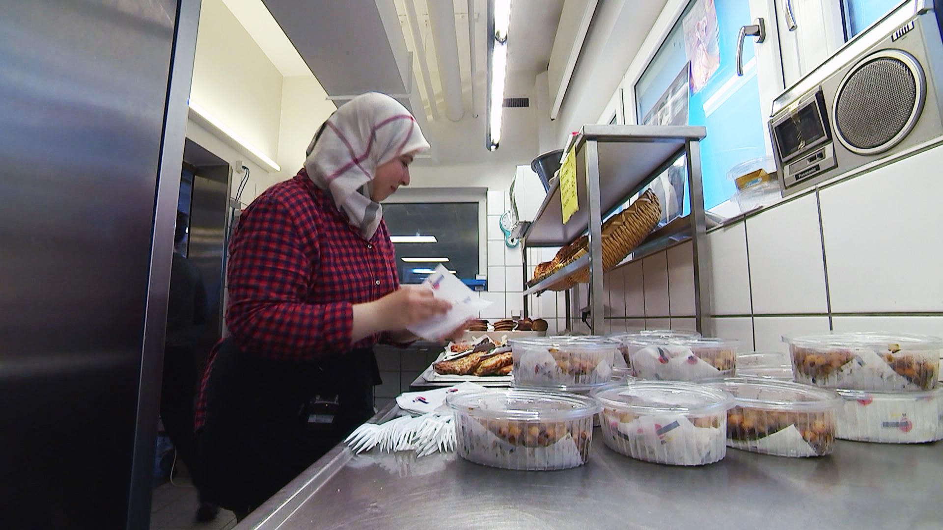 Hadia Alkattan på arbejde