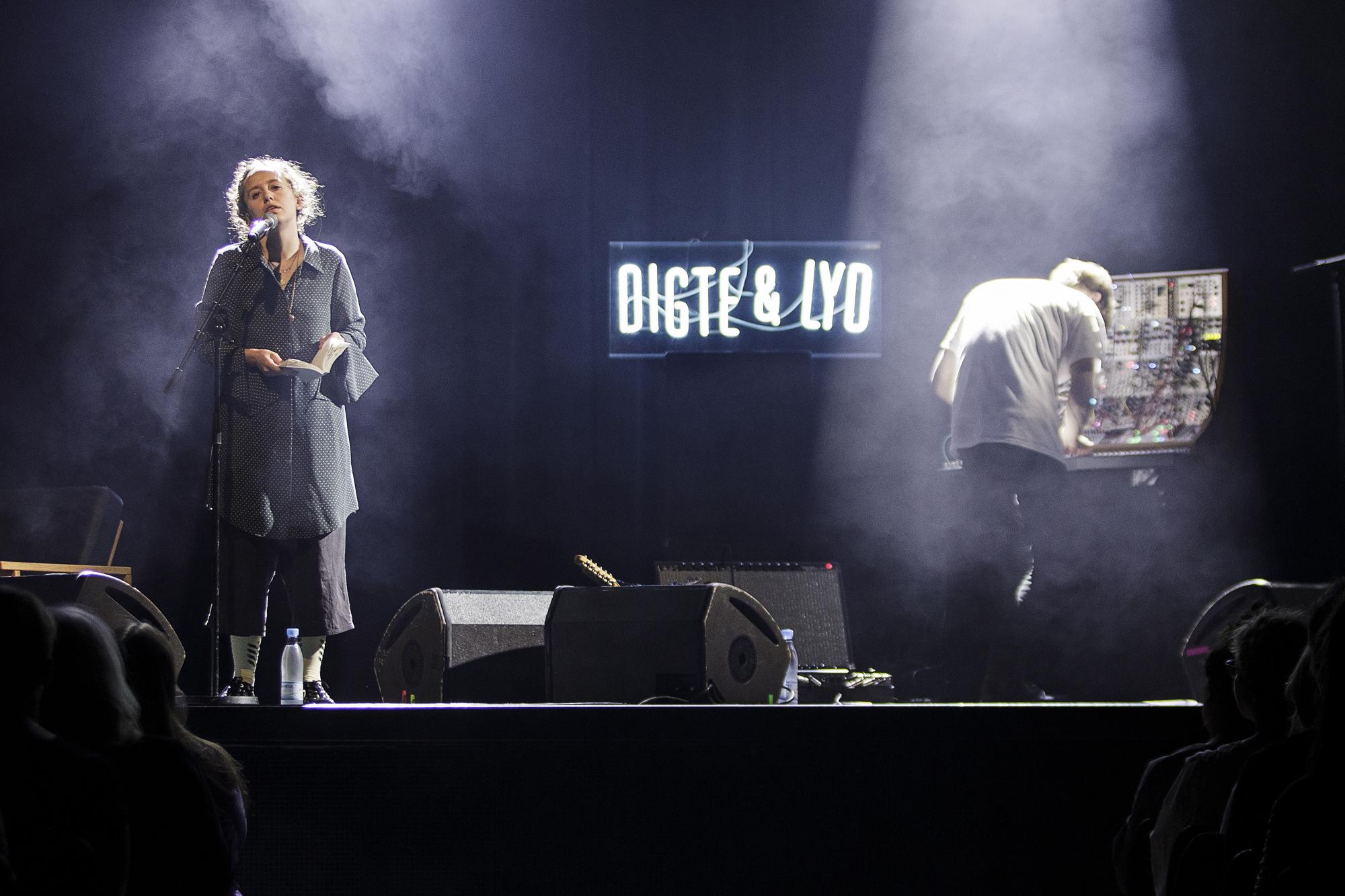 Olga Ravn og Simon Littauer til Digte og Lyd i Vega