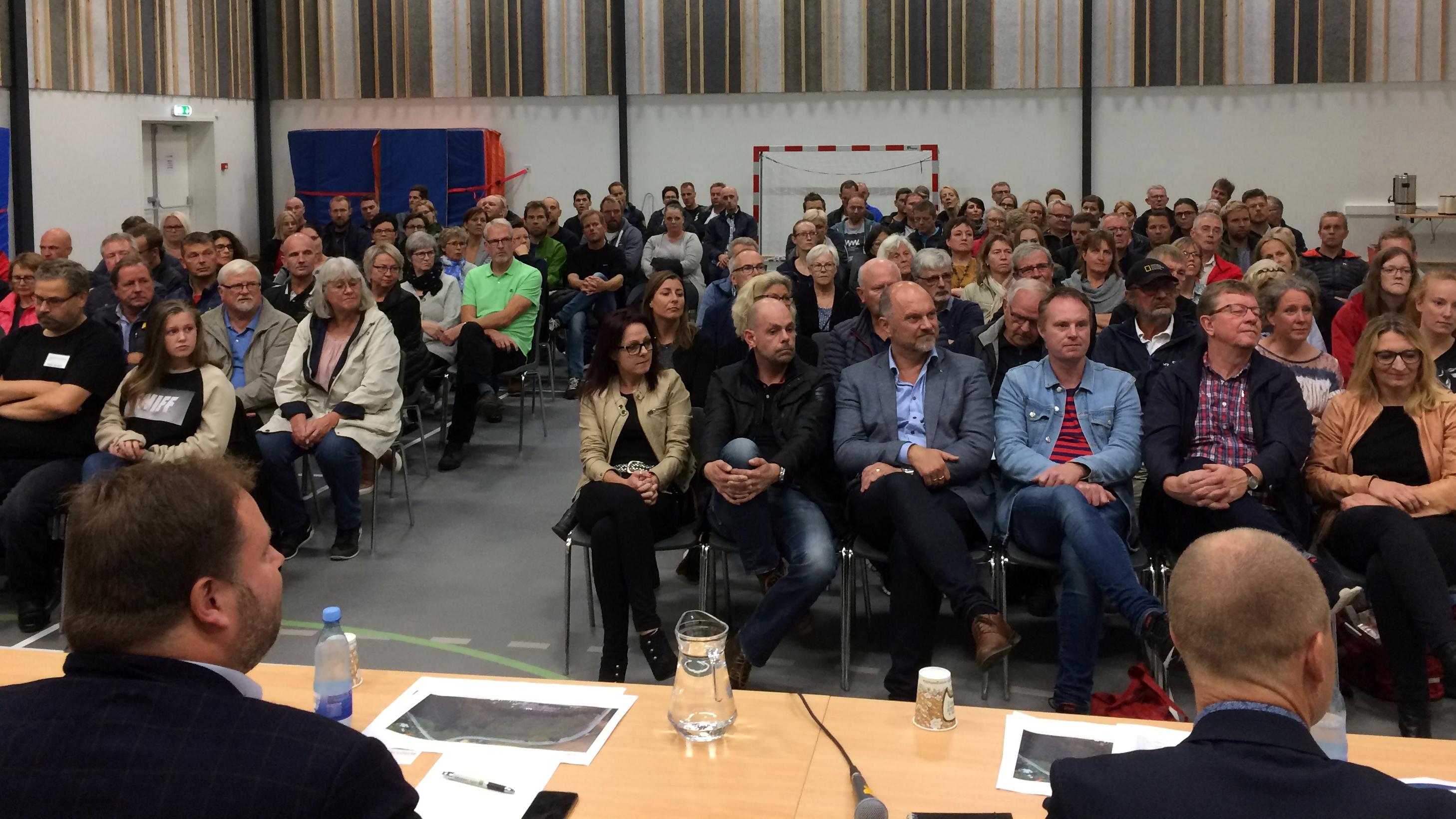 Vælgermøde i Uhrhøj i Vejle
