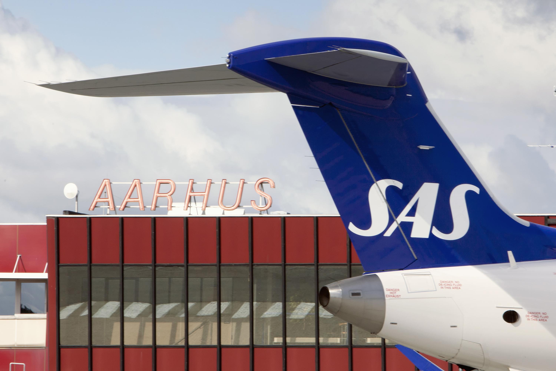SAS Aarhus Lufthavn nye ruter