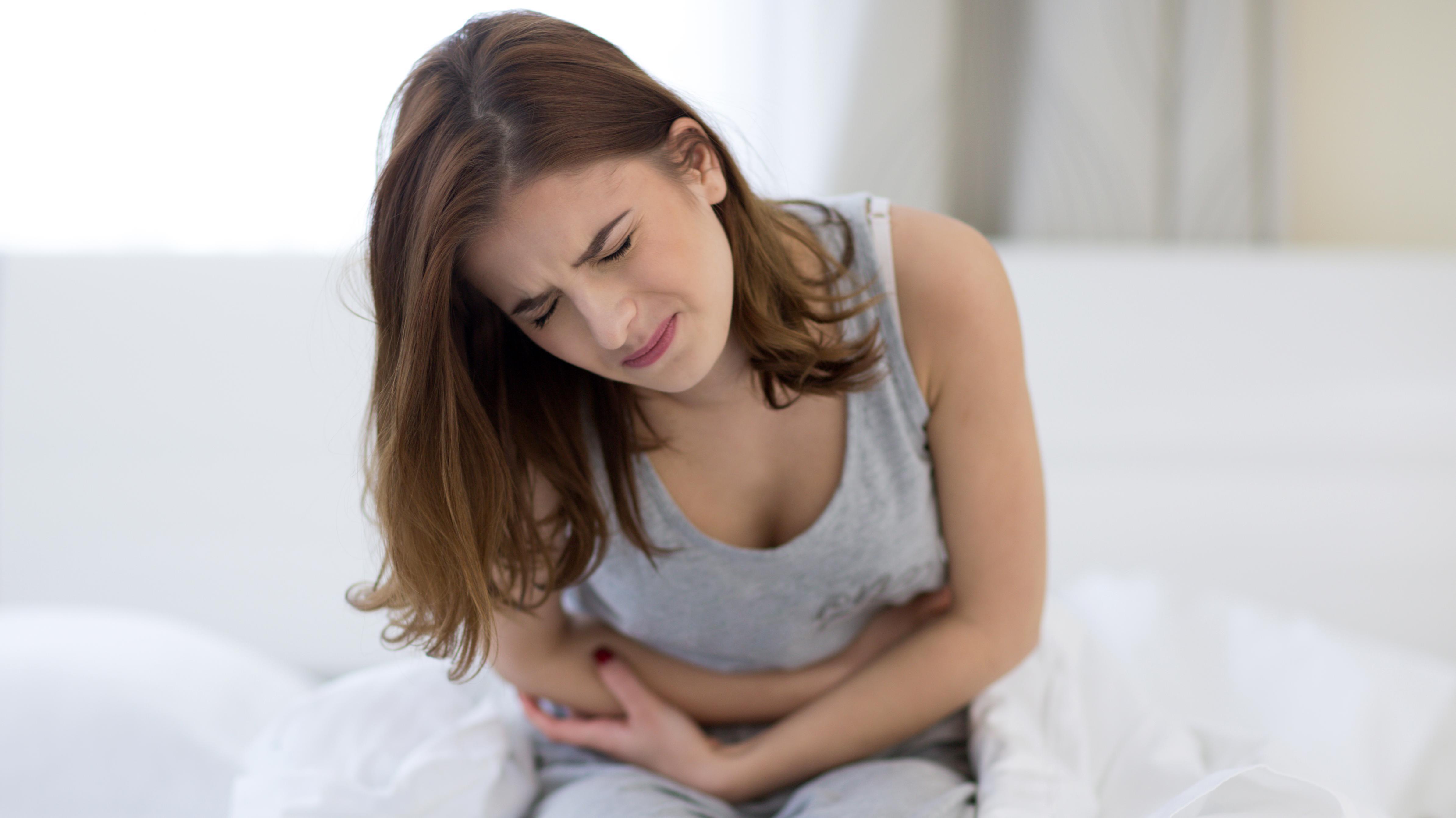 mavepine under samleje estrabladet massage
