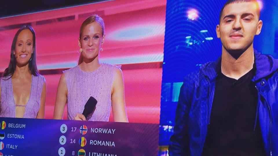 Danmark Eurovision point 2015