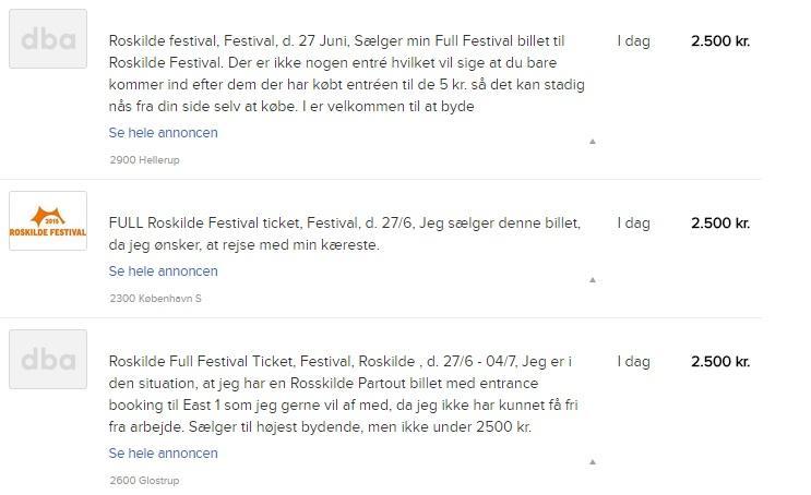 smukfest billetter saelges til overpris artikler