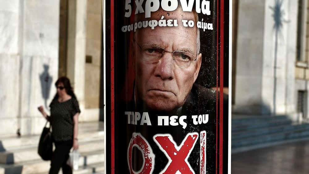 Grækenland Wolfgang Schaeuble