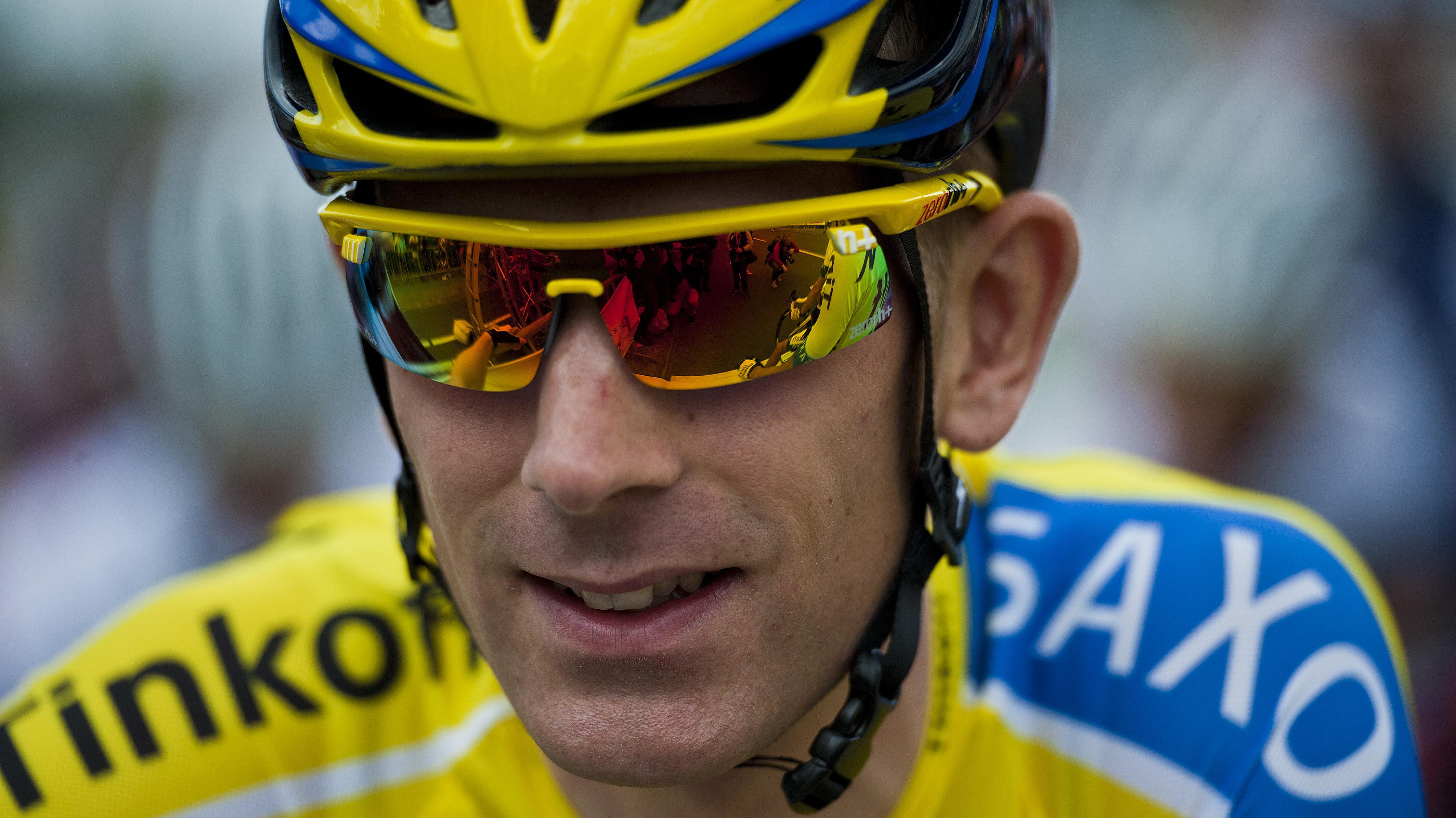Tinkoff-Saxo-rytteren Michael Mørkøv hentede sit bedste resultat i år med andenplads på etape i Vallonien.