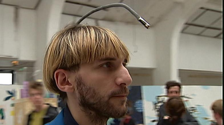 Neil Harbisson er være cyborg