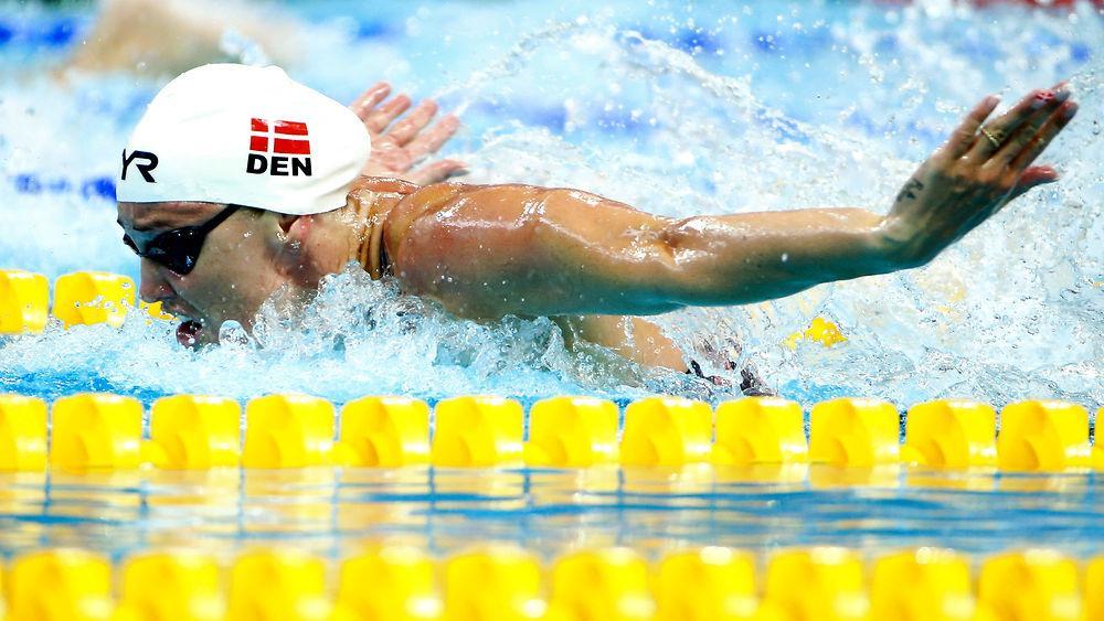 Jeanette Ottesen, svømmer