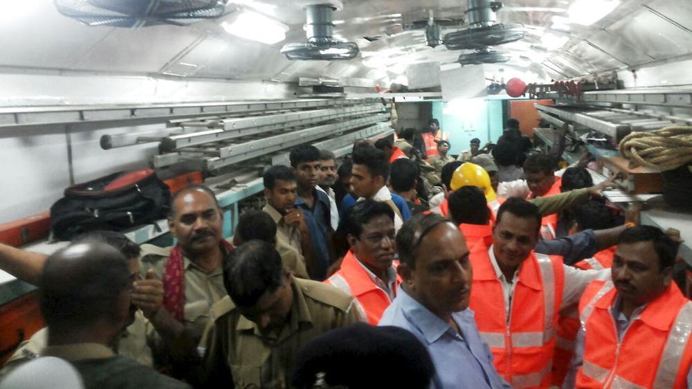 Togulykke Indien