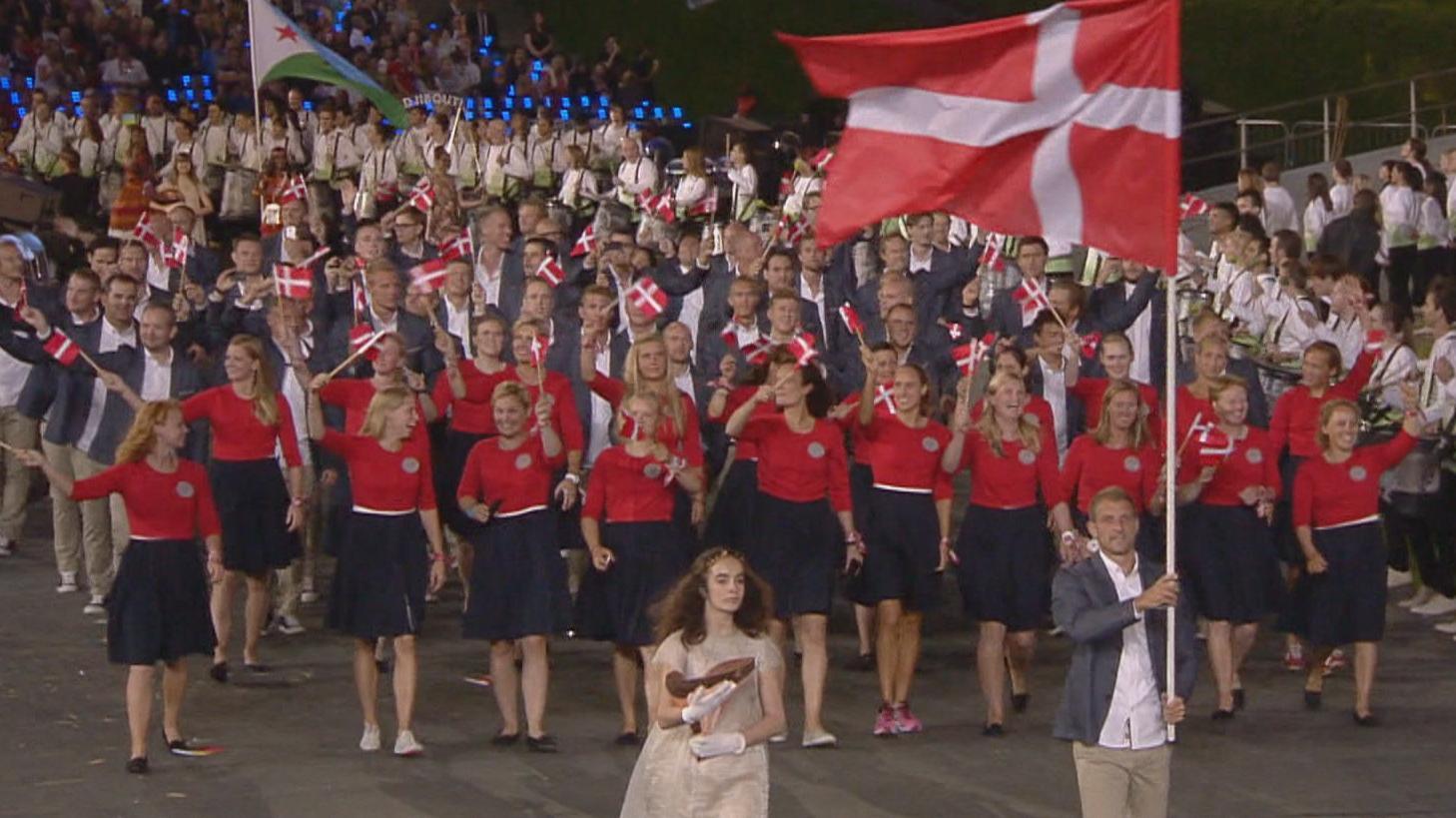 Danmark indmarch OL London 2012