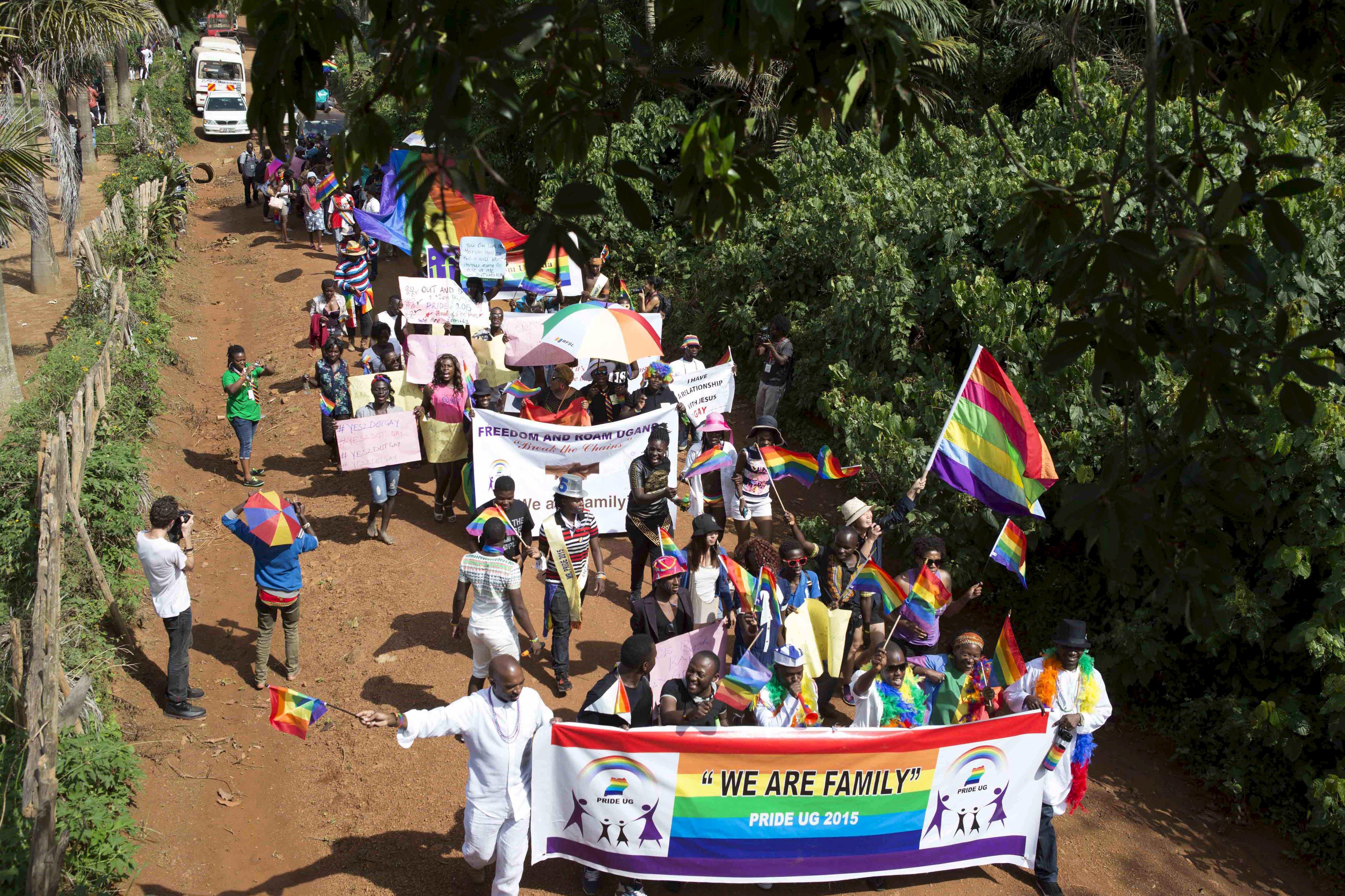 udland uganda kan bevise homoseksualitet