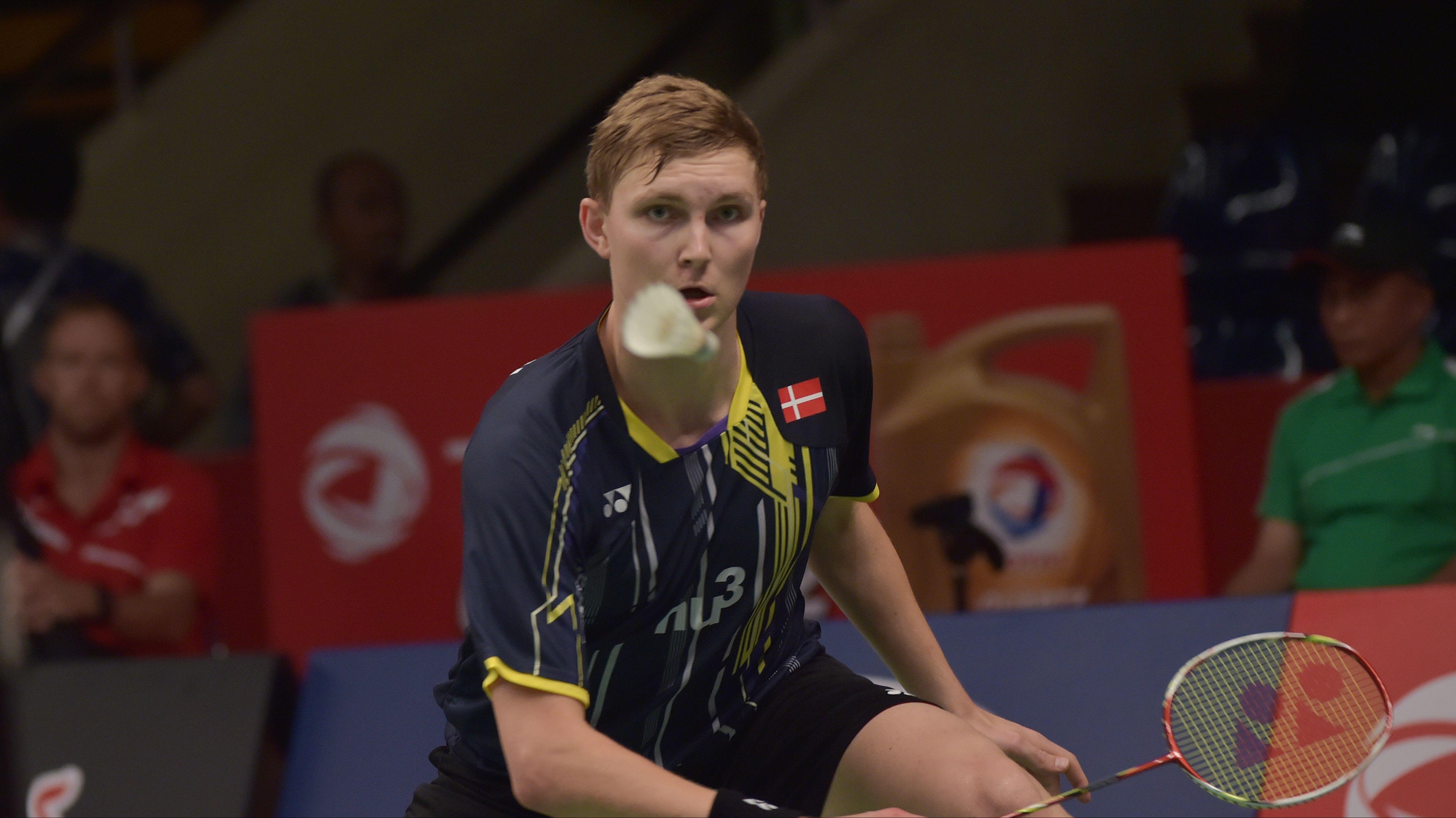 sporten ol rio badminton video viktor axelsen brager i kvartfinalen