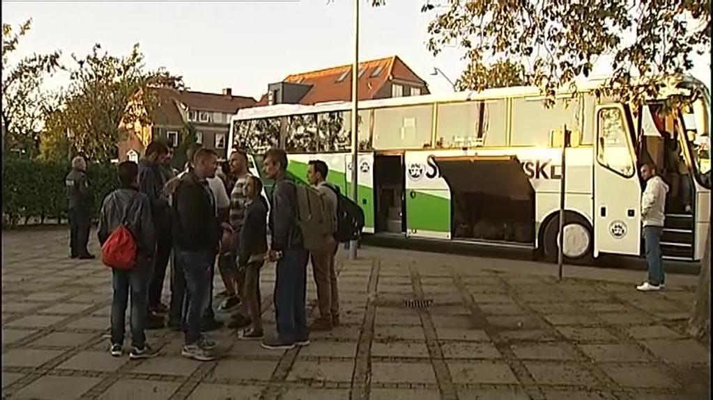 Padborg: Tog med flygtninge og migranter er tømt | Indland | DR