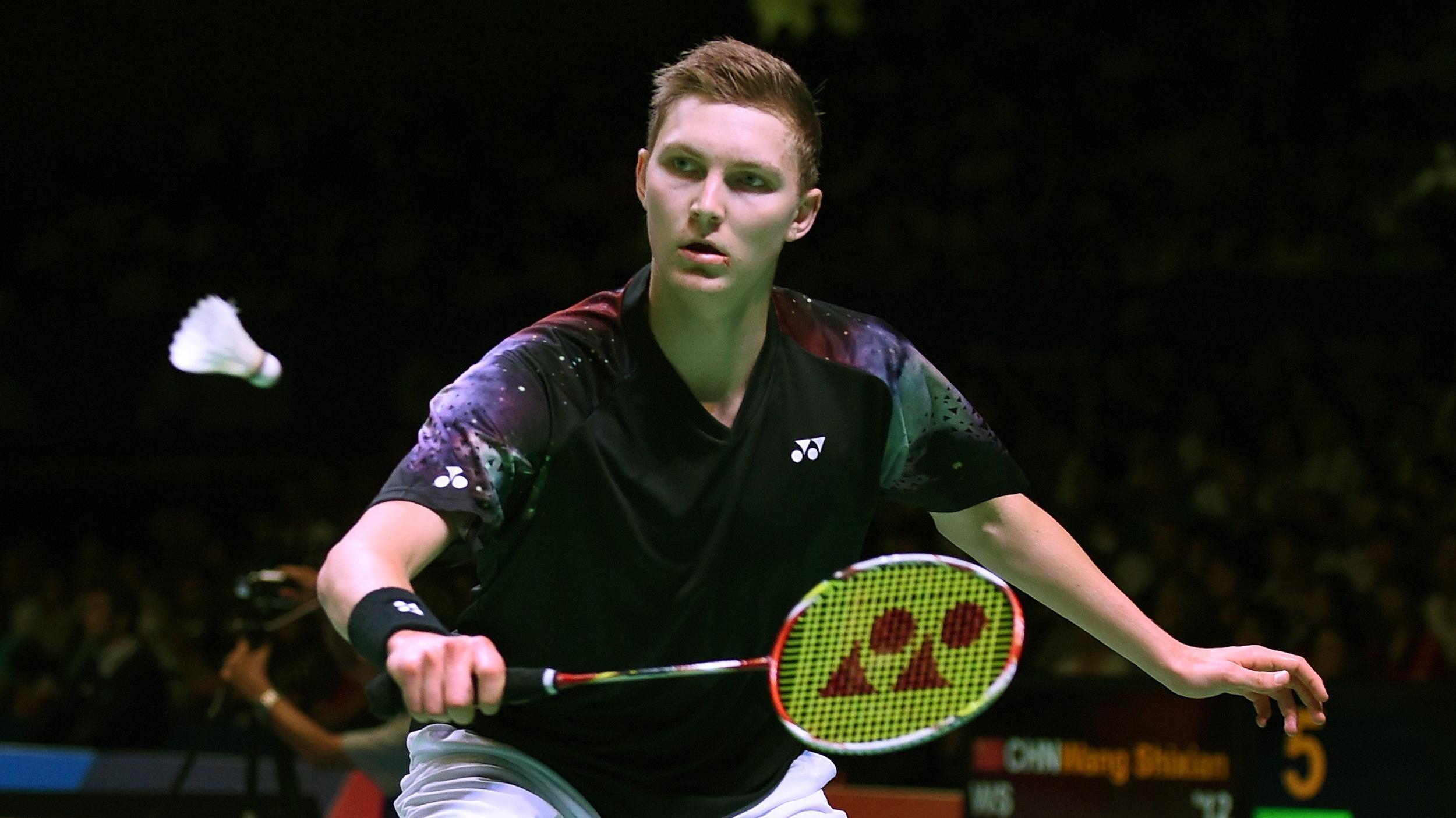 Viktor Axelsen er finaleklar ved Japan Open Badminton
