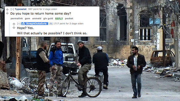 Syrien flygtninge