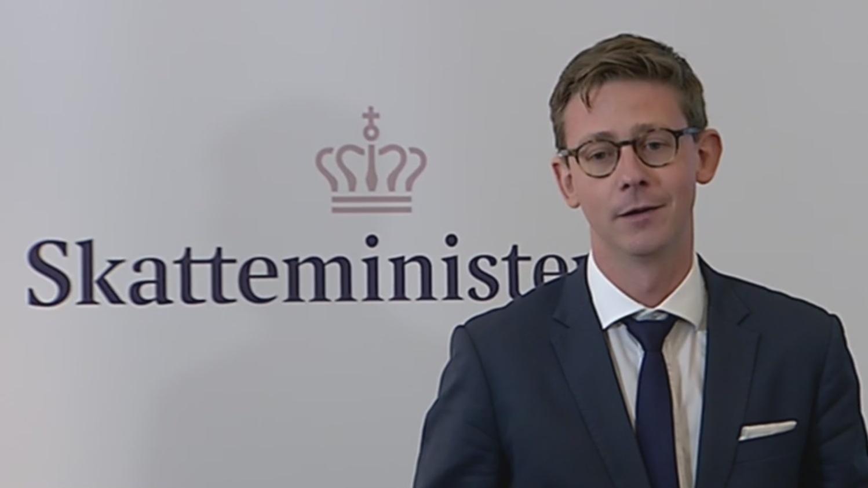 Karsten Lauritzen, skatteminister, Venstre